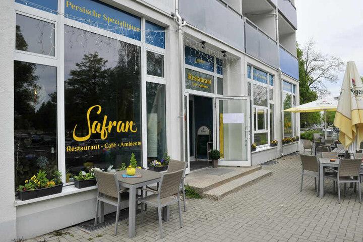 """Das Restaurant """"Safran"""" an der Promenadenstraße."""