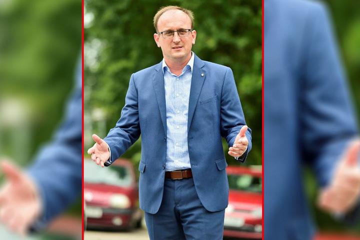 SPD-Politiker Jörg Vieweg (47) lehnt die Marx-Debatte ab, erinnert an die Opfer der SED-Diktatur.