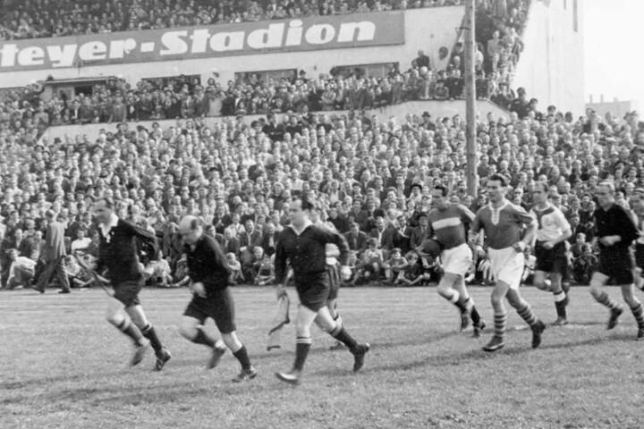Früher passten Zehntausende in das Heinz-Steyer-Stadion.