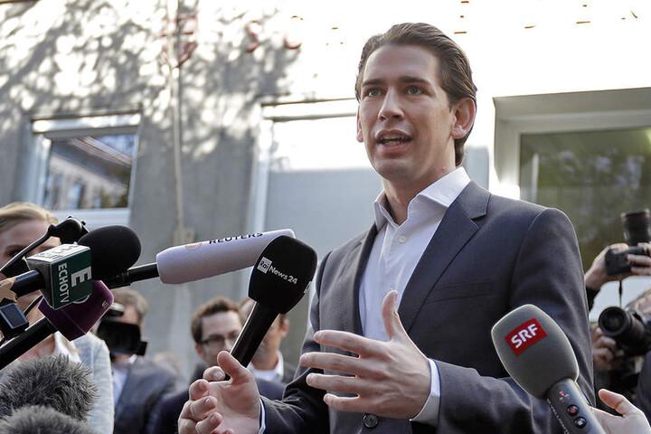 ÖVP-Spitzenkandidat Sebastian Kurz.