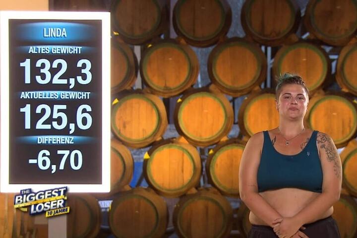 Das ernüchternde Ergebnis: Nur 6,7 Kilo sind weg - von einst 132,3!