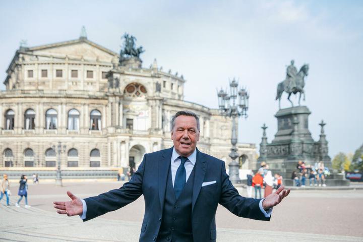 In Dresden begeistert Roland Kaiser jährlich tausende Konzertbesucher.