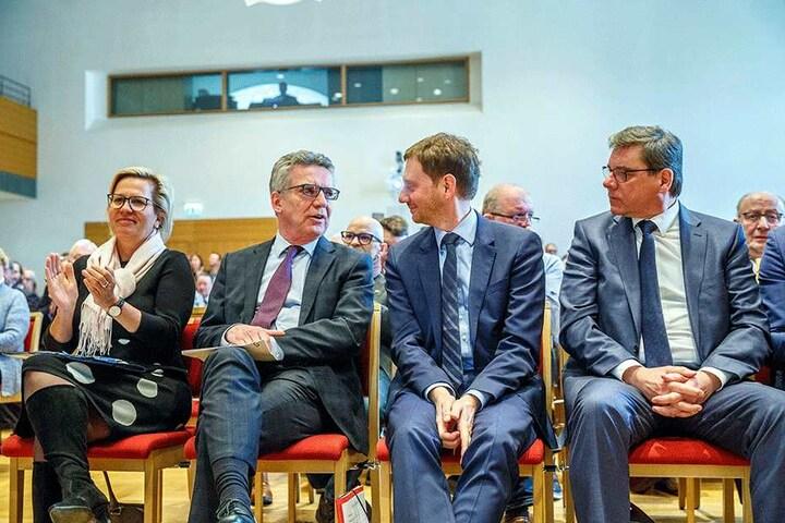 Thomas de Maizière könnte jetzt sächsischer Ministerpräsident sein - doch er wollte nicht, ließ Michael Kretschmer (42, CDU) den Vortritt.