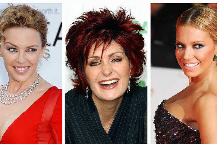 Brustkrebs kann jeden treffen. Auch Prominente wie Kylie Minogue, Sharon Osbourne oder Sylvie Meis waren bereits betroffen.