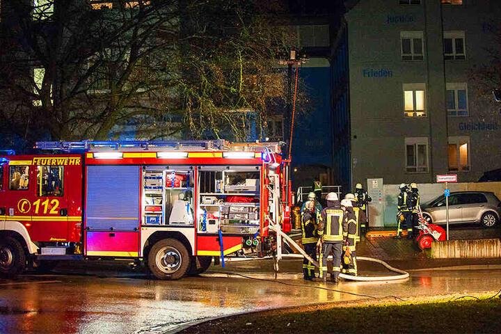 Insgesamt waren 40 Feuerwehrleute im Einsatz.