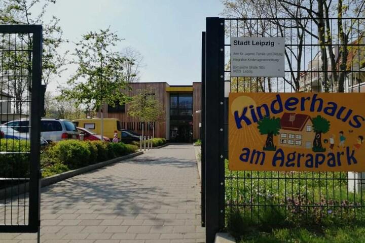 Der Vorfall ereignete sich im Kinderhaus am Agrapark im Leipziger Süden.