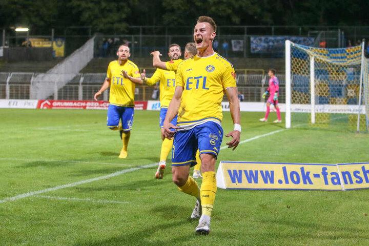 Matthias Steinborn eröffnete in der 18. Minute die torreiche Begegnung mit seinem Führungstor.