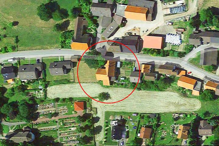 Das Horror-Haus steht im Saatweg in Höxter-Bosseborn.