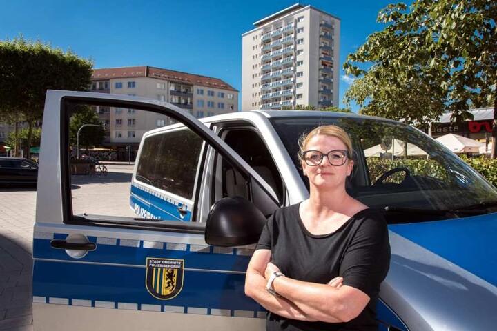 Spielt den Ball zurück: Laut Susanne Schaper (40, Linke) trage die Landes-CDU Schuld an der Ordnungshüter-Misere.