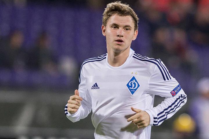 Vladyslav Kalitvintsev vor zwei Jahren beim Euroleague-Viertelfinale zwischen Dynamo Kiew und dem AC Florenz.