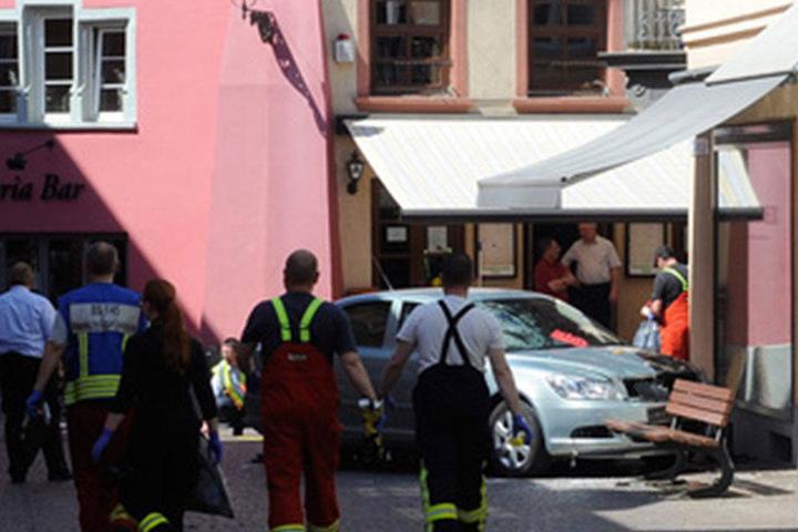Bei der Unfallfahrt starben zwei Menschen