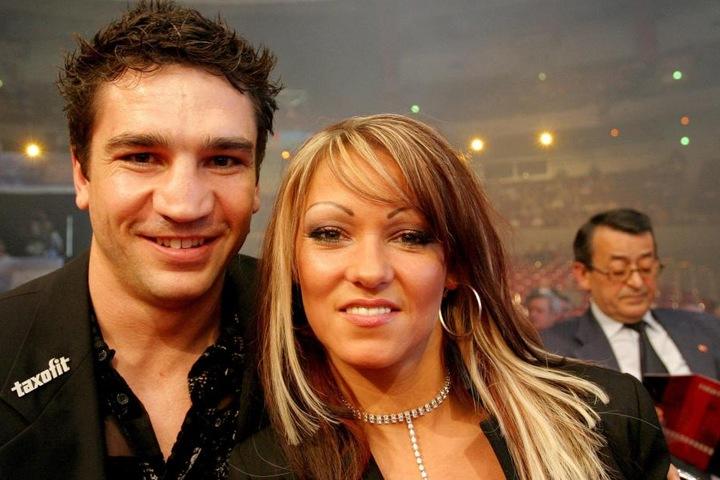 Markus Beyer im Jahr 2005 mit seiner ehemaligen Frau Daniela Haak.