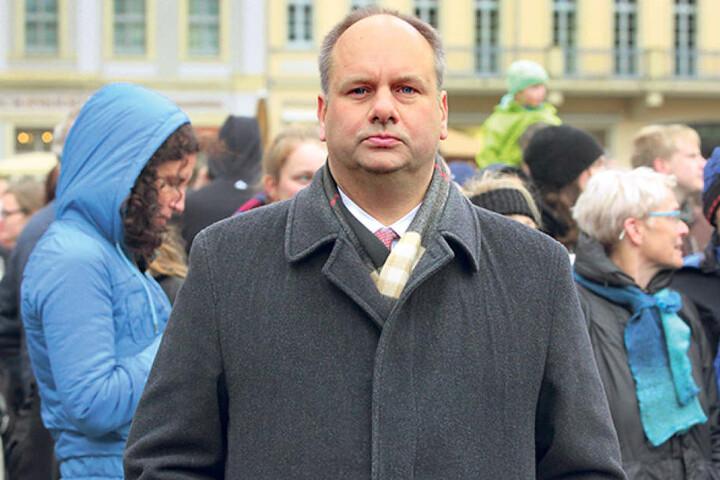 Muss die Verzögerungen erklären: OB Dirk Hilbert (46, FDP).