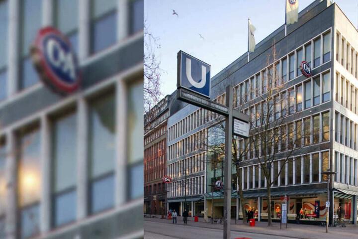Ein abgerissenes C&A-Gebäude in Hamburg (Symbolbild)