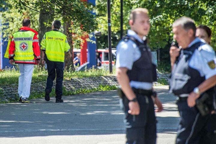 Zwar nahmen die Beamten im Stadtgebiet einen Mann fest, doch es war der Falsche.