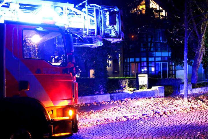 Das Feuer war in der Nacht zu Dienstag ausgebrochen.