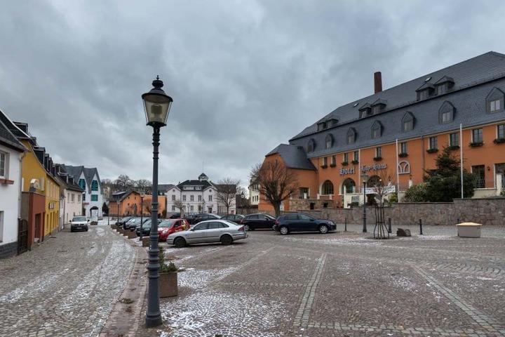 Limbach-Oberfrohna will sein Image aufpolieren. Im Bild: der Marktplatz.