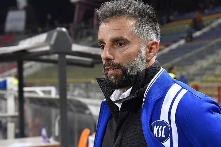 Nach 15 Spielen wurde der Karlsruher Trainer wegen akuter Erfolglosigkeit entlassen.