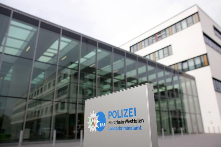 Blick auf das Landeskriminalamt (LKA) der Polizei Nordrhein-Westfalen in Düsseldorf.