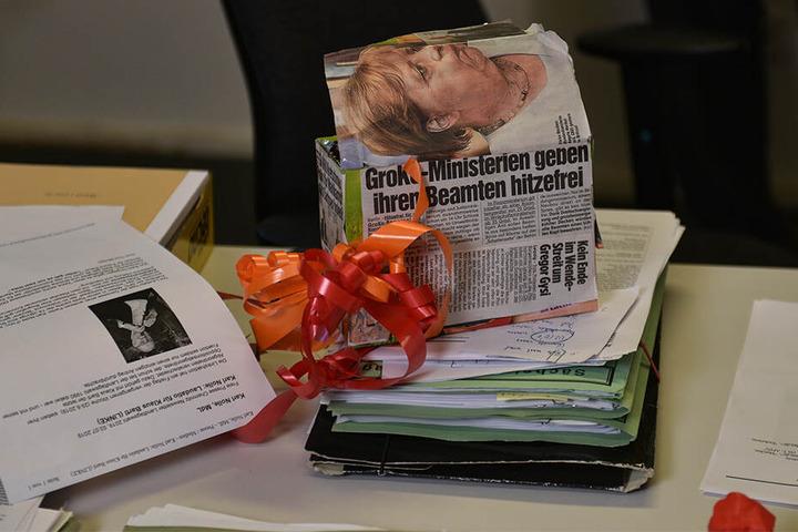 Geheimdienst- oder Stasi-Unterlagen befinden sich nicht im Schrank, so Bartl.