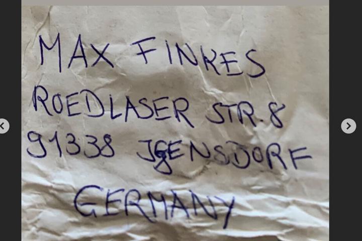 An diese Adresse können die Postkarten geschickt werden.