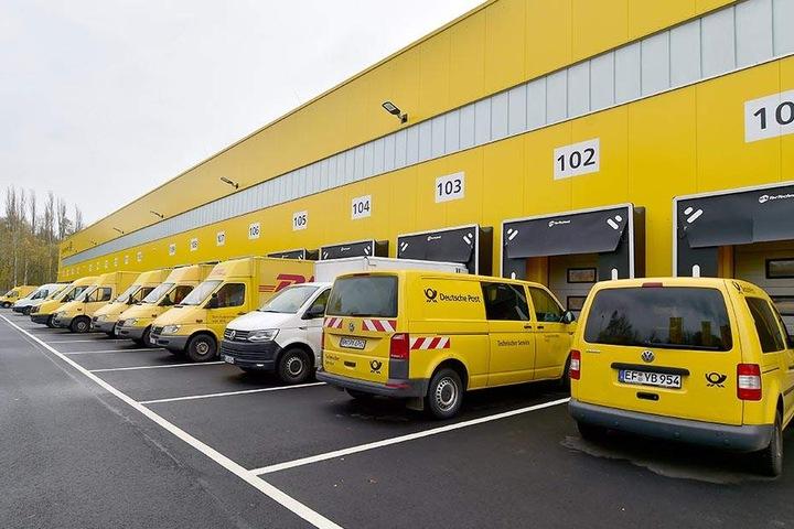 Durch die neue Sortieranlage, kommen die Sendungen schneller ins Lieferfahrzeug und somit auch schneller zum Kunden.