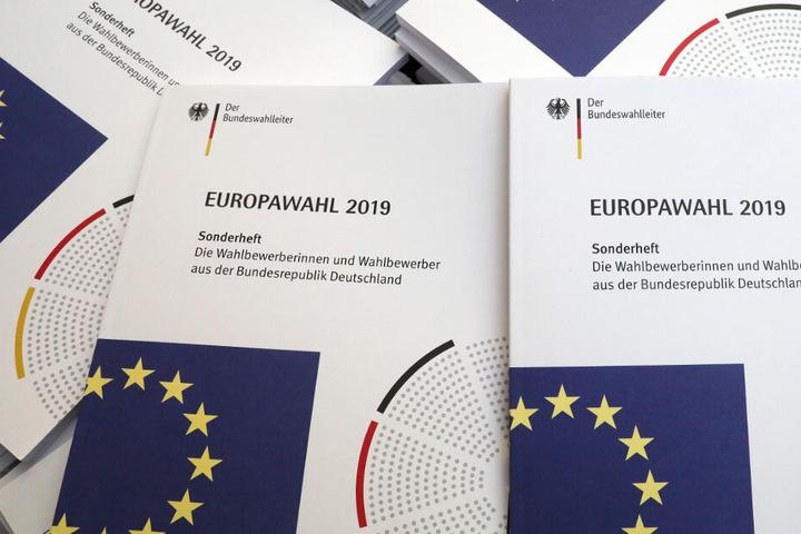 Am 26. Mai ist Europawahl. Die Benachrichtigungen sollen bis spätestens 4. Mai versendet sein.
