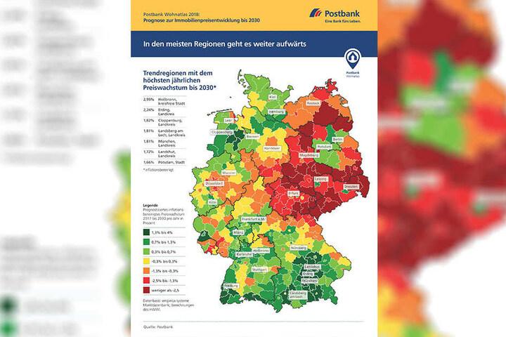 Dresden und Leipzig sind die Immobilien-Paradiese von Sachsen.