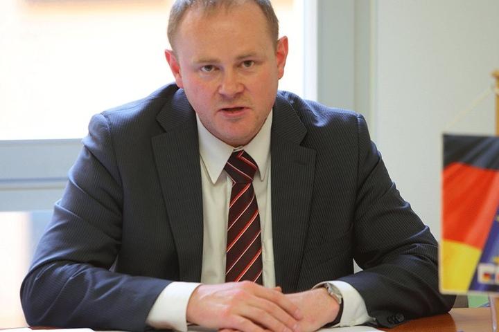 CDU-Stadtrat Gunter Thiele (43) kritisiert den hohen Arbeitsaufwand für das Ehrenamt.