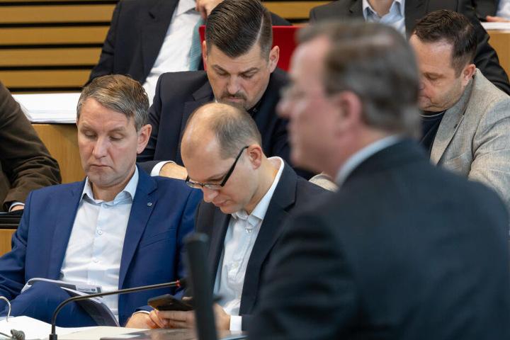 Björn Höcke und die AfD zeigten sich von Ramelows Vorwürfen wenig begeistert.