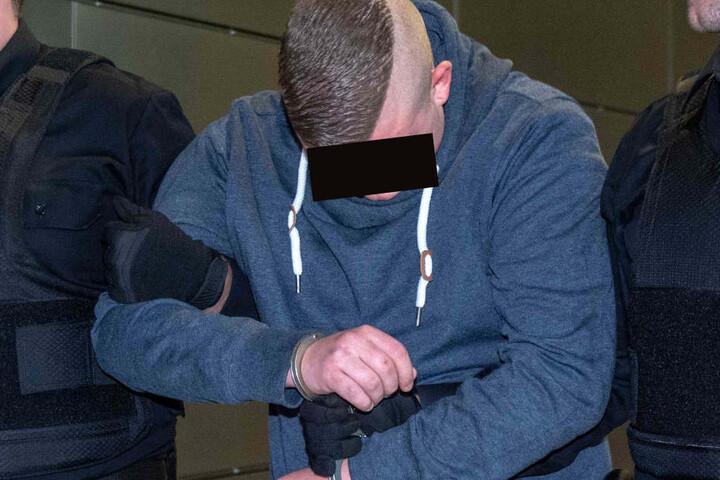 Der Angeklagte Felix M. (20). Im Prozess sind 15 Zeugen sowie drei Sachverständige geladen.