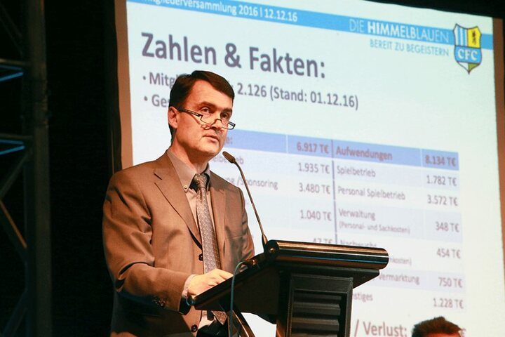 Mathias Hänel erklärt, warum der Verein so in den Miesen steht.