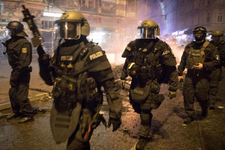 Viele Bundesländer gewähren den Gipfel-Polizisten Sonderurlaub.