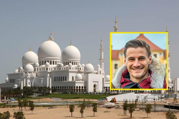 Ab in die Wüste! Dynamo-Stürmer Stefan Kutschke macht  einen Kurztripp nach Abu Dhabi.