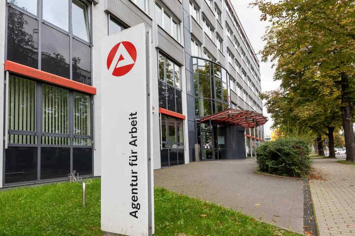 Die Agentur für Arbeit in Chemnitz: Das Jobcenter ist für die Familie zuständig.