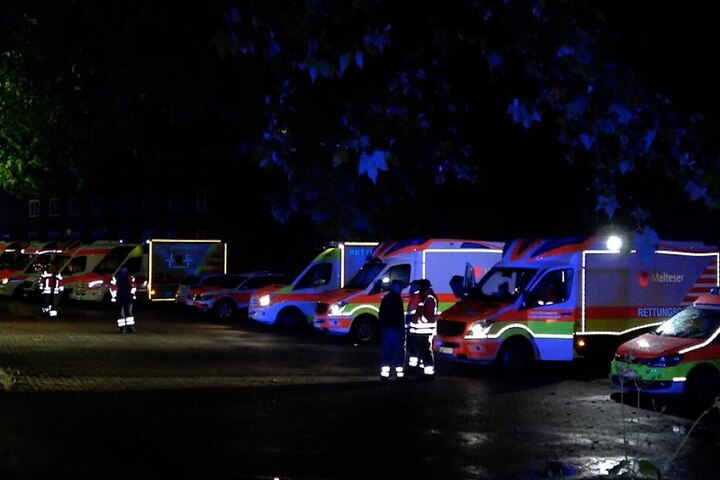 Aufgrund des Unwetters drohte einmal mehr die Evakuierung des Krankenhauses.