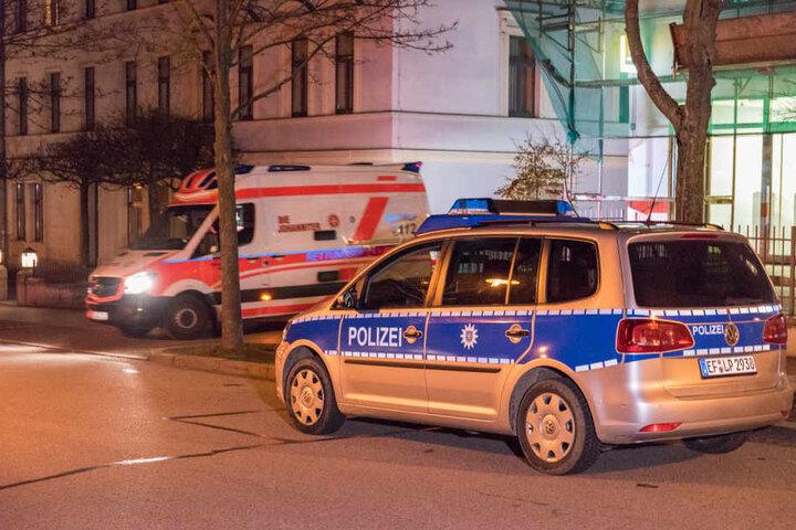 Noch in der Nacht konnte die Polizei einen Tatverdächtigen verhaften.
