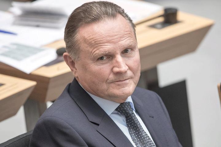 Georg Pazderski (AfD) hat den Antrag im Abgeordnetenhaus Berlins eingebracht.