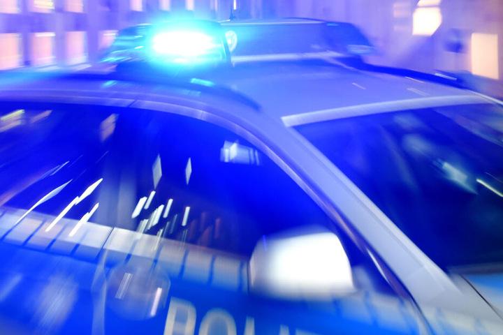 Auch die Polizei Leipzig war vor Ort.