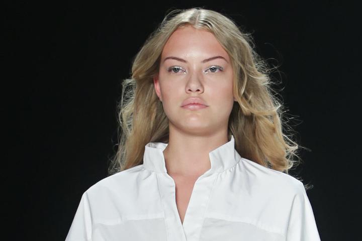 Zuletzt lief sie auch für zwei Labels bei der Fashion Week in Berlin über den Laufsteg.