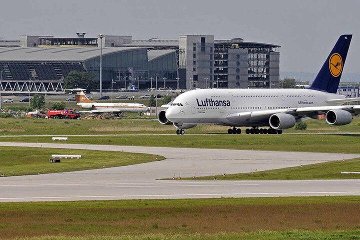 Auch am Leipziger Flughafen kommt es zu Verspätungen und Ausfällen.