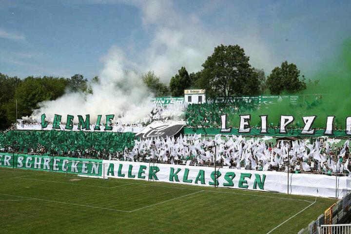 Im Schnitt besuchten knapp 2800 Zuschauer die Heimspiele der BSG im Leutzscher Alfred-Kunze-Sportpark.