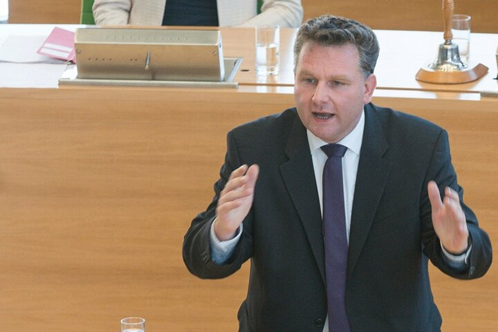 Die Immunität des Landtagsabgeordneten Christian Hartmann wird wohl aufgehoben werden.