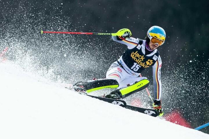 Der 34-Jährige während des FIS Ski World Cup Vitranc in Kranjska Gora im März.