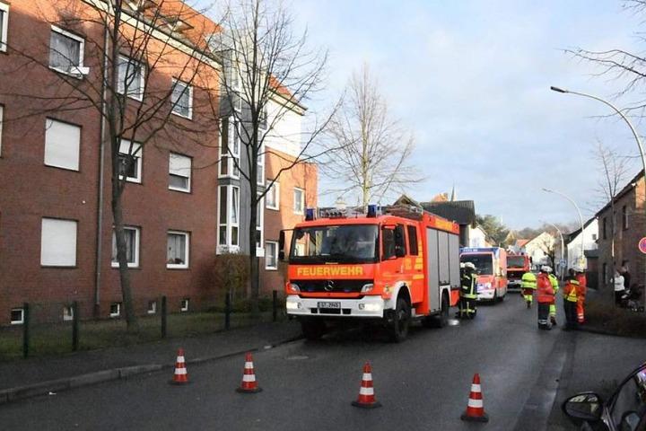 Die Feuerwehr musste den Brand letztendlich nicht mehr löschen.