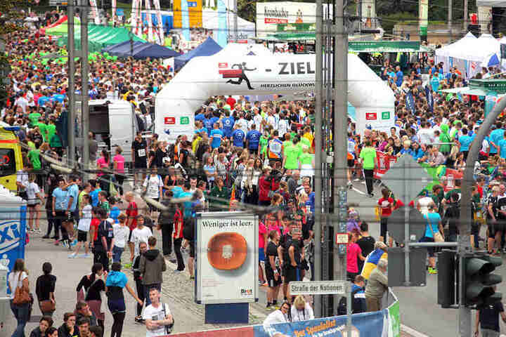 Zum 11. Firmenlauf Chemnitz werden wieder Tausende Laufbegeisterte erwartet.