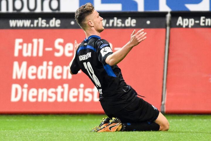 SCP-Stürmer Dennis Srbeny ist ein Erfolgsgarant für die Ostwestfalen.