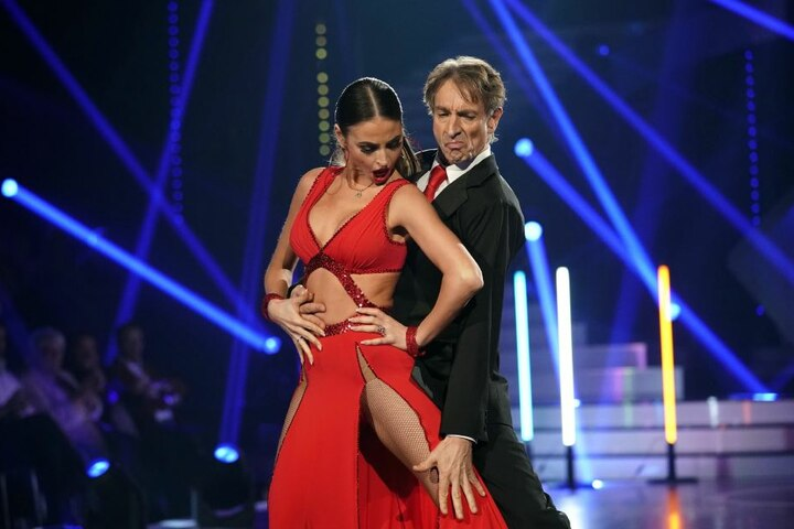 Sie sahnten die Höchstpunktzahl ab: Ingolf Lück (59) und seine Tanzpartnerin Ekaterina Leonova (30).