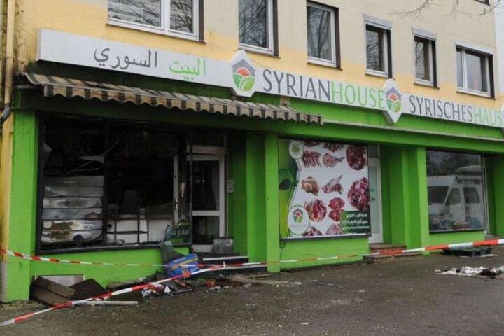 Das syrische Kauhaus in Bad Oeynhausen fackelte komplett ab.