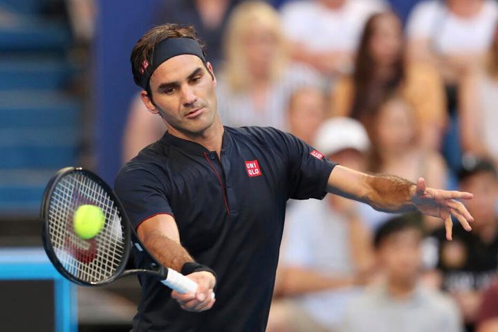 Grand Slam-Rekordsieger Roger Federer (37) gewann im vorigen Jahr den Mercedes Cup in Stuttgart.